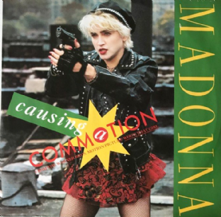 "Madonna - Causing A Commotion (12"") (VG/VG)"